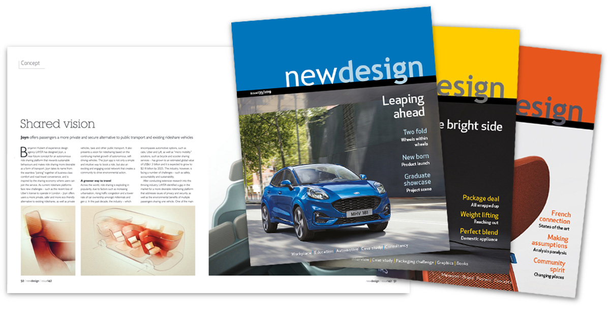 advertise in newdesign magazine